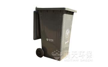 240L钢制垃圾桶