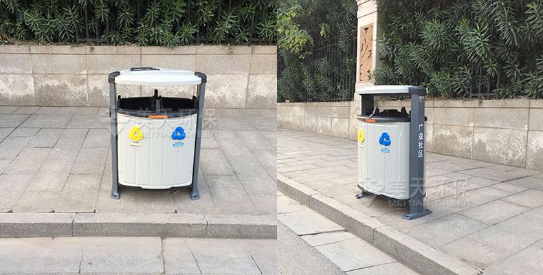 长沙小区垃圾桶