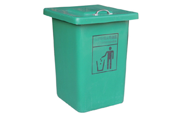 美天环保玻璃钢垃圾桶