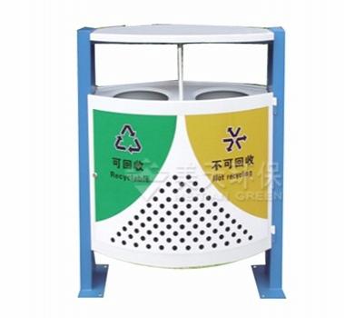 环卫钢板垃圾桶