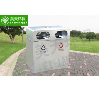户外不锈钢垃圾桶