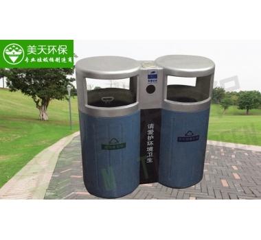玻璃钢分类垃圾桶