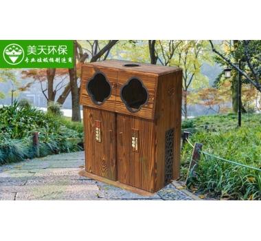 优质木垃圾桶