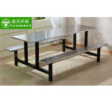 食堂八人位条凳餐桌椅