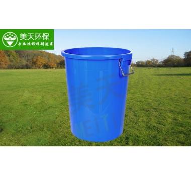 150L圆形塑料垃圾桶