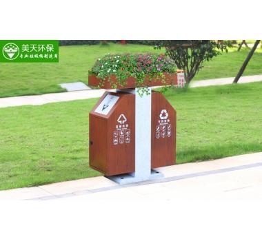 道路花箱垃圾桶