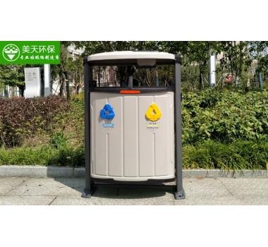 市政钢板垃圾桶