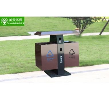 景区分类钢板垃圾桶
